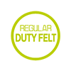 Regular duty felt